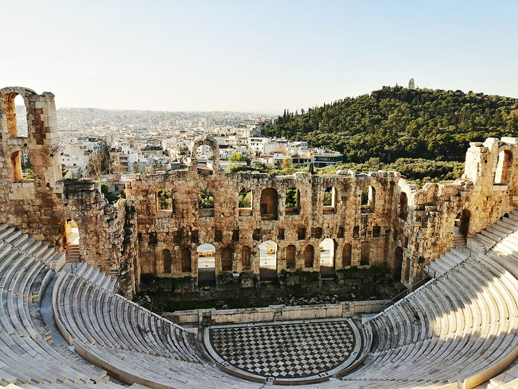 Herod Atticus Odeon (Herodium)