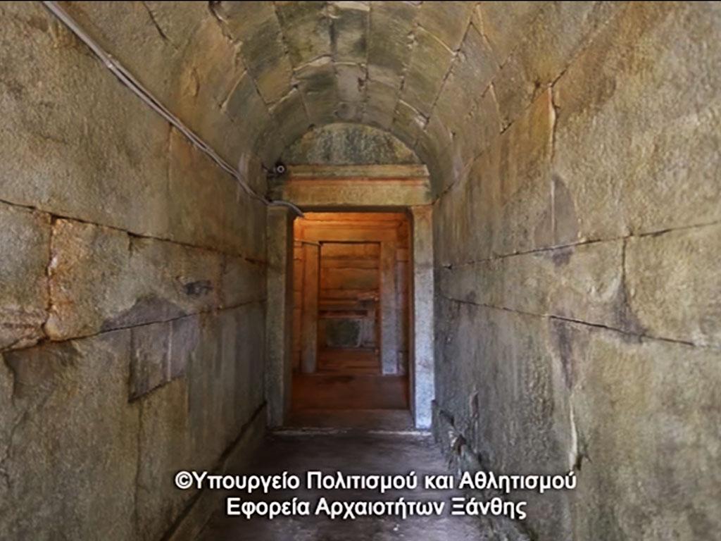 Macedonian tomb of Stavroupoli
