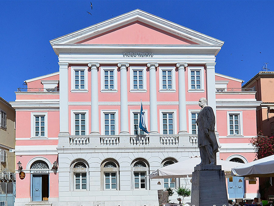 Museum of banknotes of Corfu