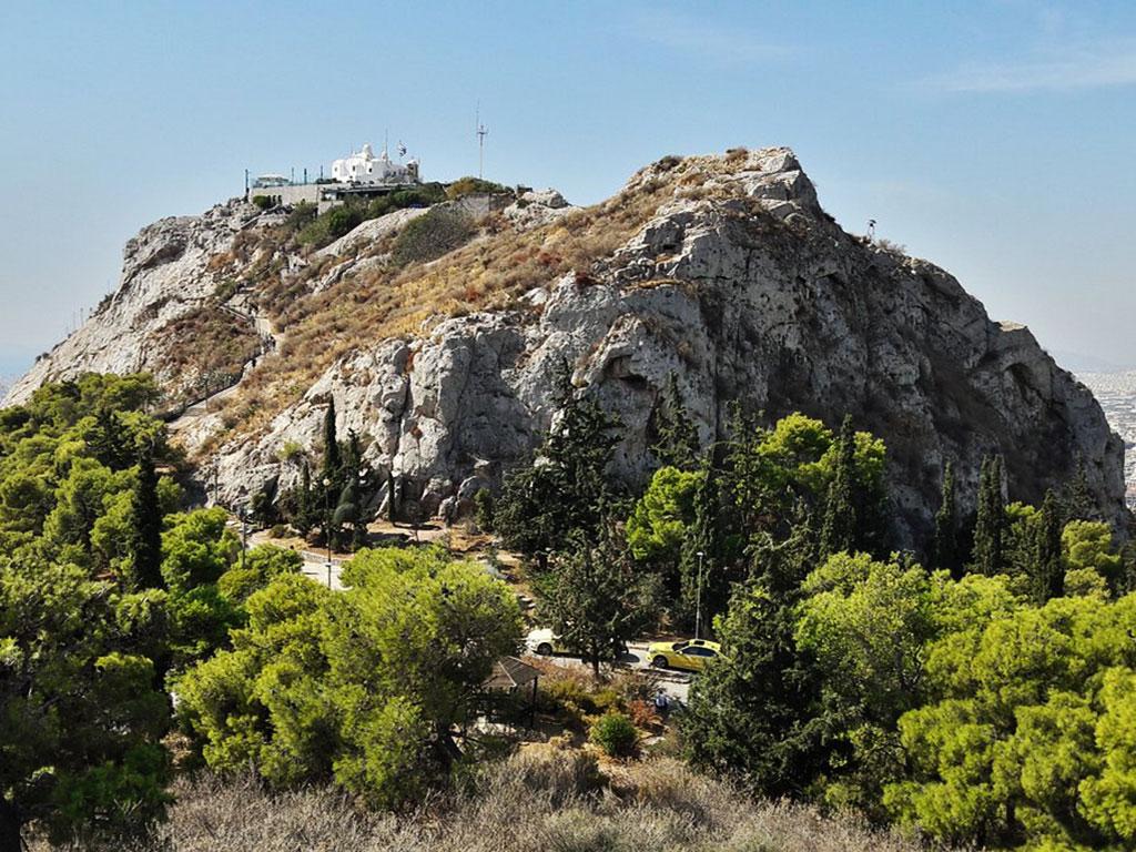 Church of Agios Georgios on Mt Lycabettus